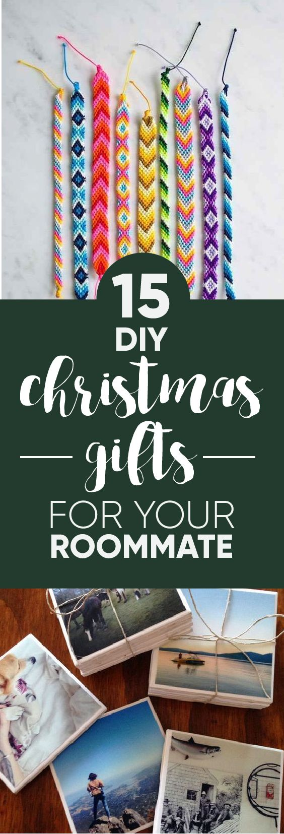 Roommates are the best, which is why they deserve a DIY gift from your heart!