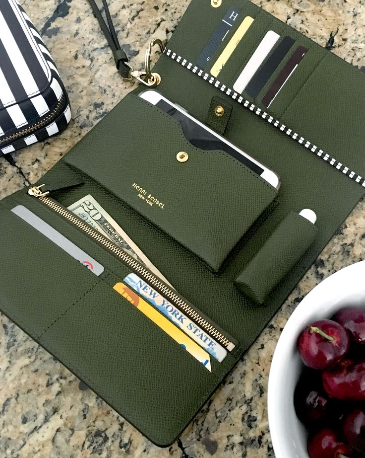 The Uptown Out & About Oragnizer Wallet is for the Bendel Girl who's all about...