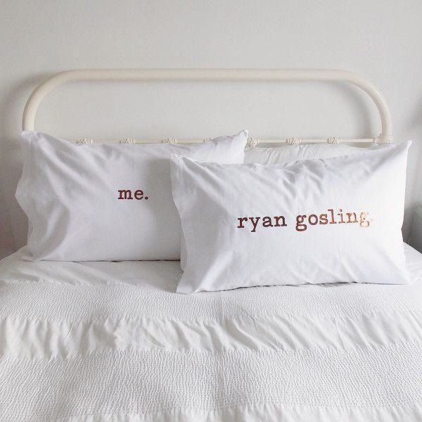 Gifts For Him Ideas : Personalised Pillow Case Set - GiftsDetective ...