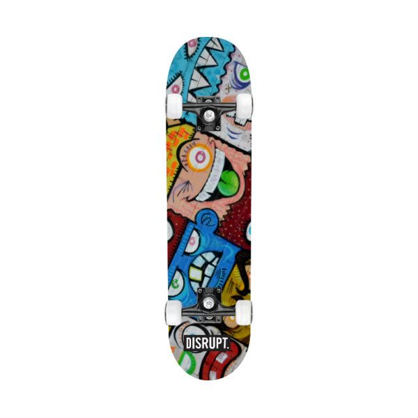 Skateboard Ideas Part - 38: Gifts For Him : Street Graffiti Skateboard Deck