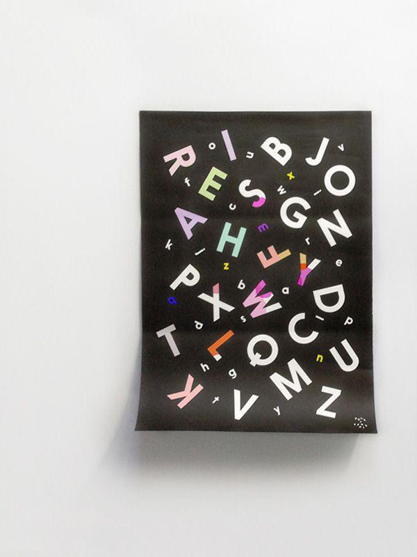 Alphabet Soup Coloring Poster – Rock & Pebble