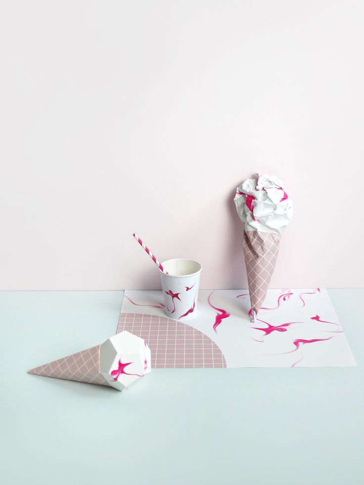 Gifts For Kids : Delicious designs for an Ice Cream Party - Paper ...