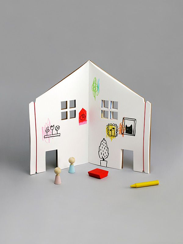 The Dollhouse Book by Rock & Pebble