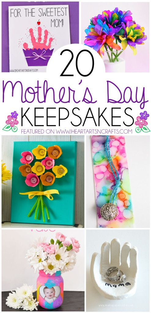 Mom Birthday Gifts 20 Mothers Day Keepsake Gifts That Kids Can Make