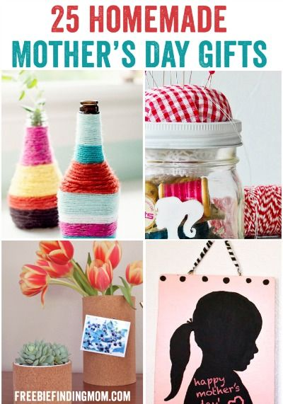 Mom Birthday Gifts 25 Homemade Mothers Day