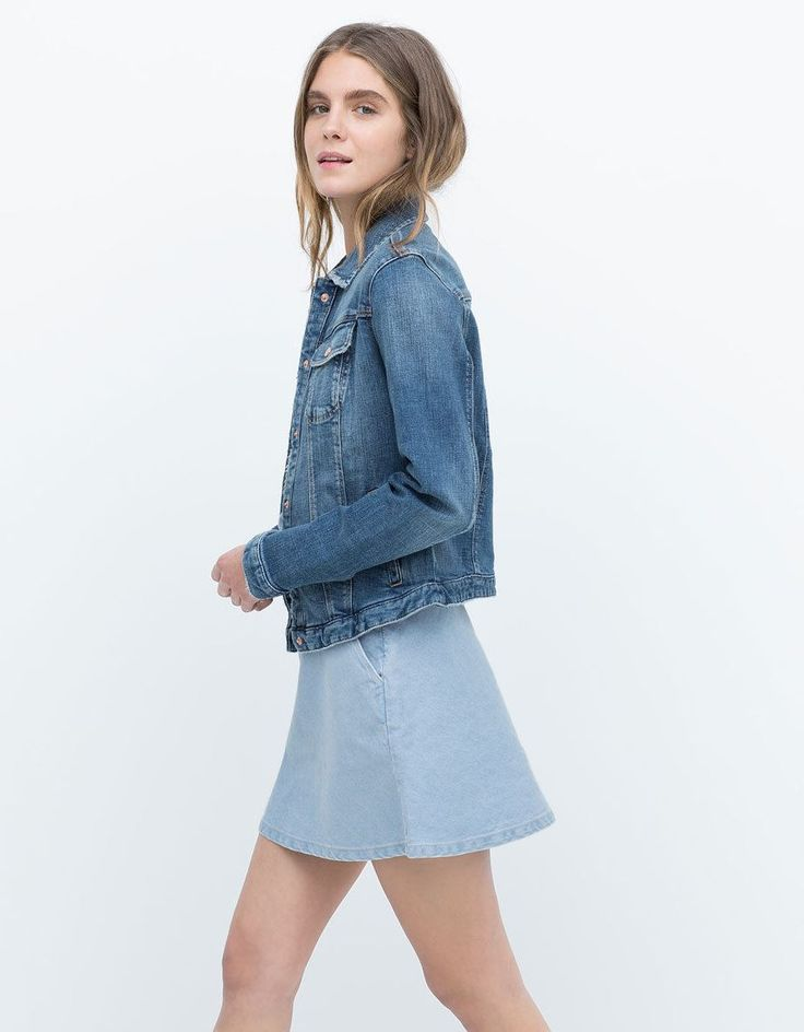 Mom Birthday Gifts Another Jean Jacket By Zara Teamed Up With A