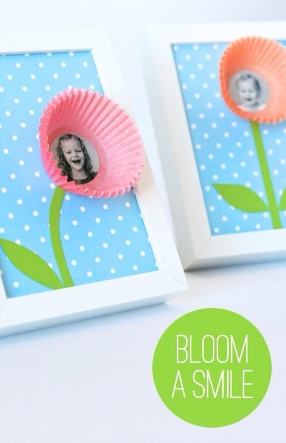 Mom Birthday Gifts Bloom A Smile Mother S Day Photo Craft