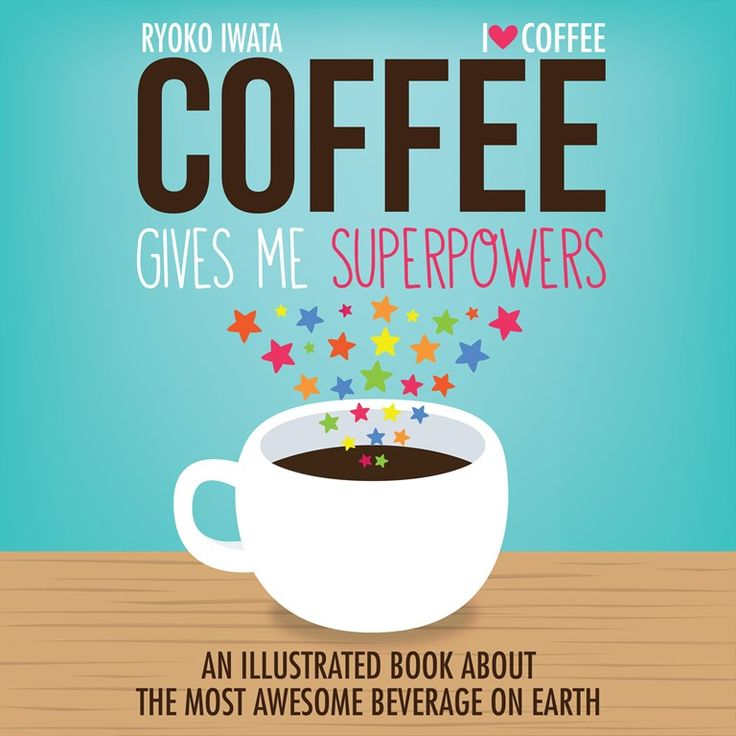 Mom Birthday Gifts Coffee Gives Me Superpowers An Illustrated