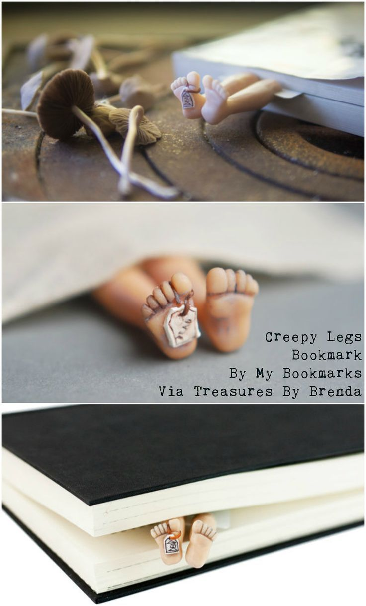 Mom Birthday Gifts Creepy Legs Bookmark From My Bookmarks On Etsy