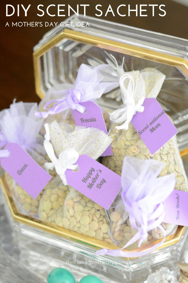 Mom Birthday Gifts DIY Scented Sachets With Love2Love Fine