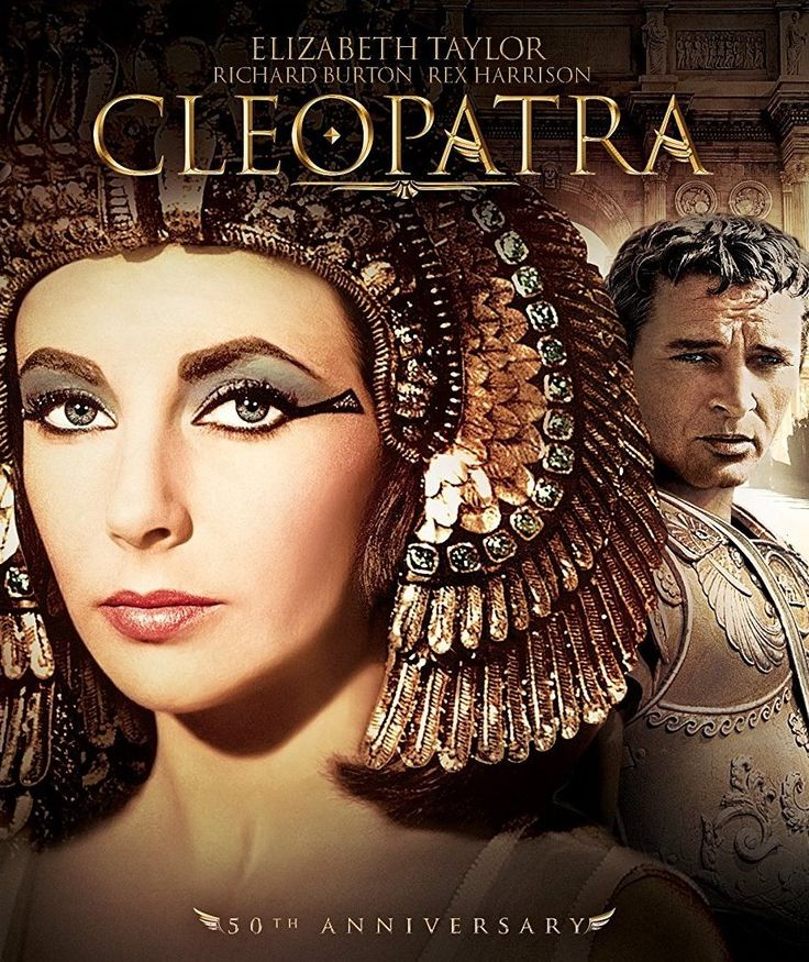 Elizabeth Taylor in CLEOPATRA. #egypt #movies