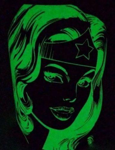 FAB FIND: DC Comics Six Flags Wonder Woman glow in the dark coffee mug.
