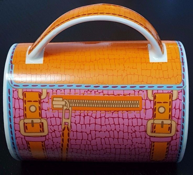 Features a crocodile inspired pink and orange design. | eBay!