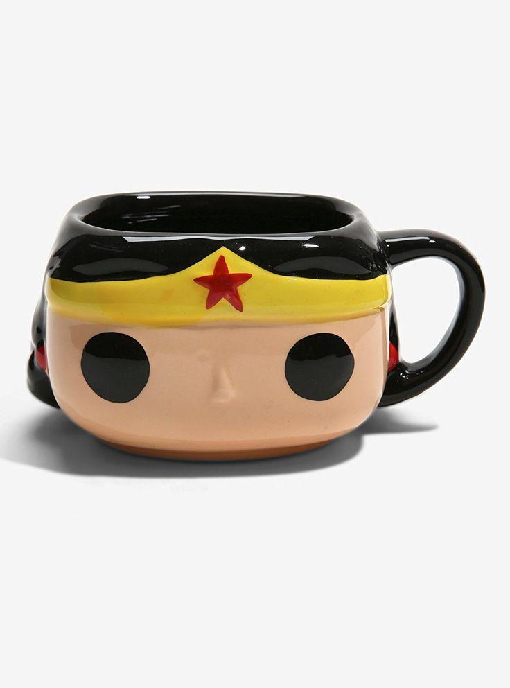Funko Wonder Woman coffee mug...looks like a better decorative accessory than pr...