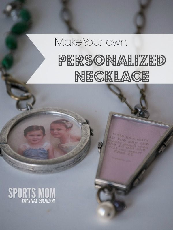 Mom Birthday Gifts How To Make Personalized Necklace Charms For
