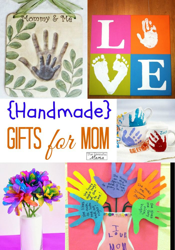 Mom birthday gifts i love all of these perfect for for Crafts for birthdays as a gift