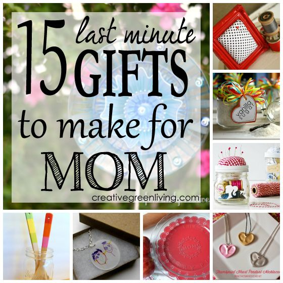 Mom Birthday Gifts Its Not Too Late To Make A Crafty Gift For