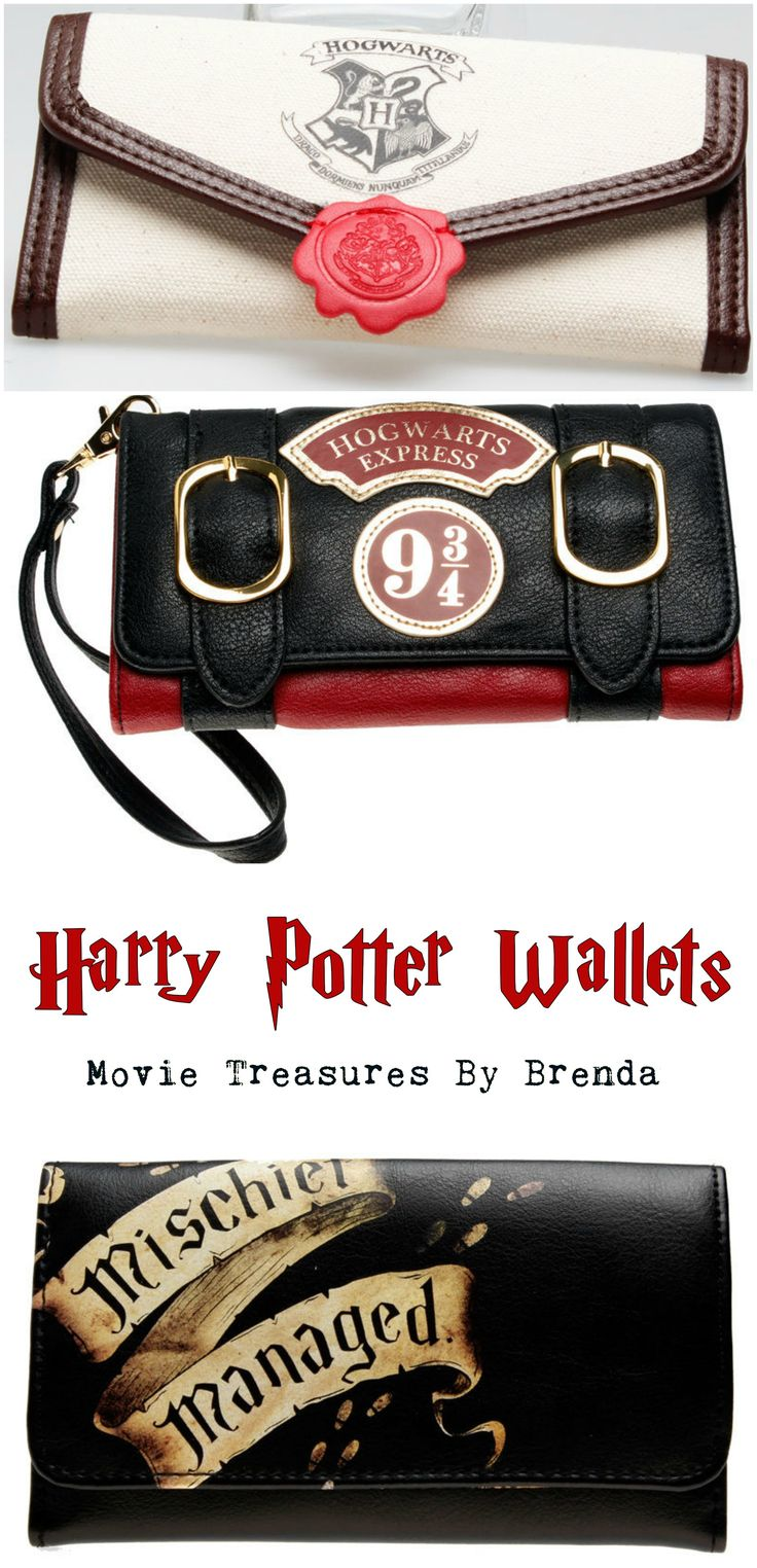 LOVING this selection of Harry Potter Wallets...there's one for you whether ...