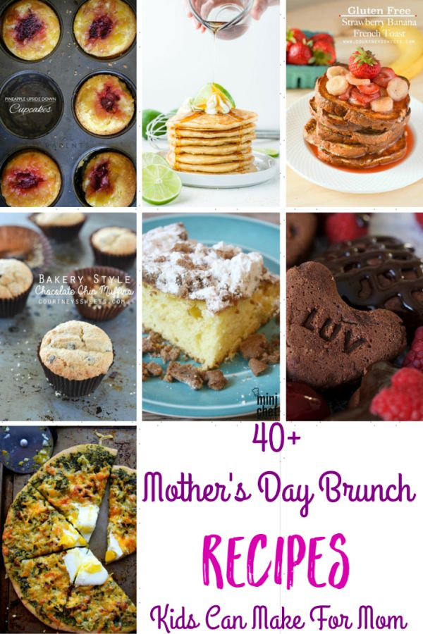 Mother's Day Brunch Recipes that Kids Can Make For Mom - Momma Lew for Mini ...