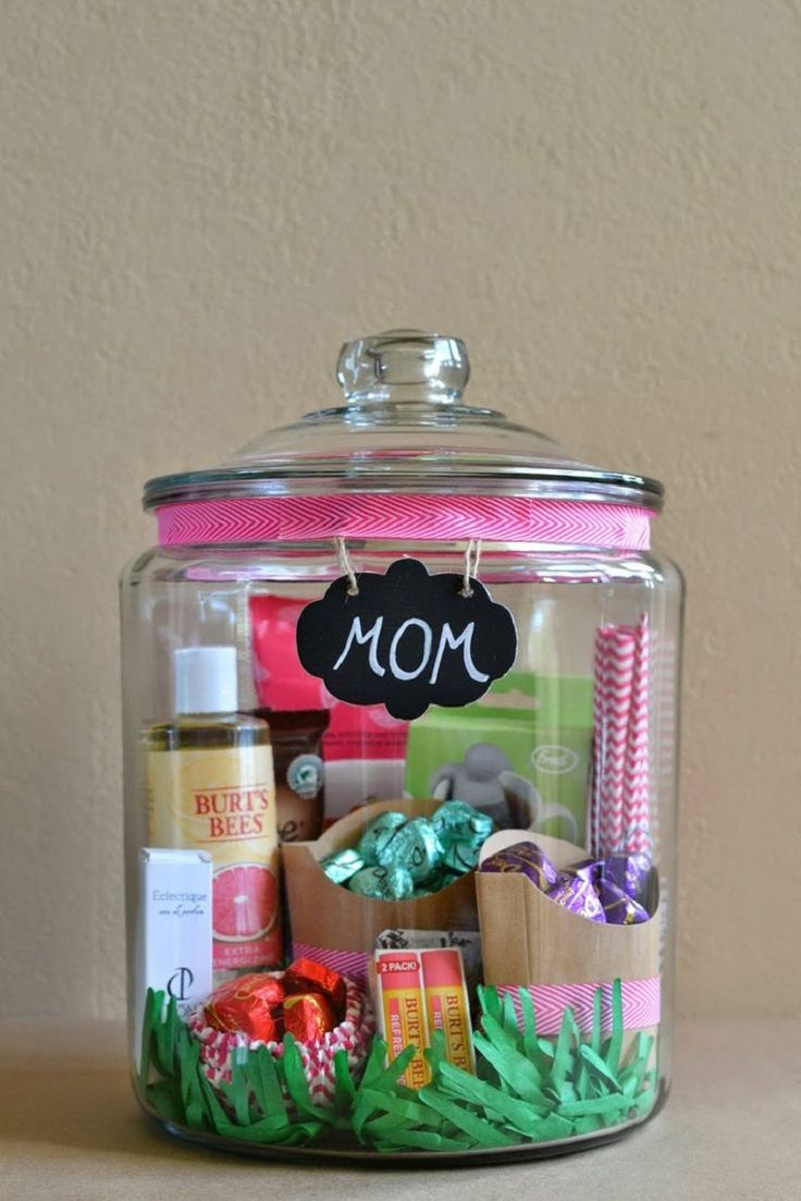 Mom Birthday Gifts : Mother\'s Day Homemade Gift in A Jar - 21 ...