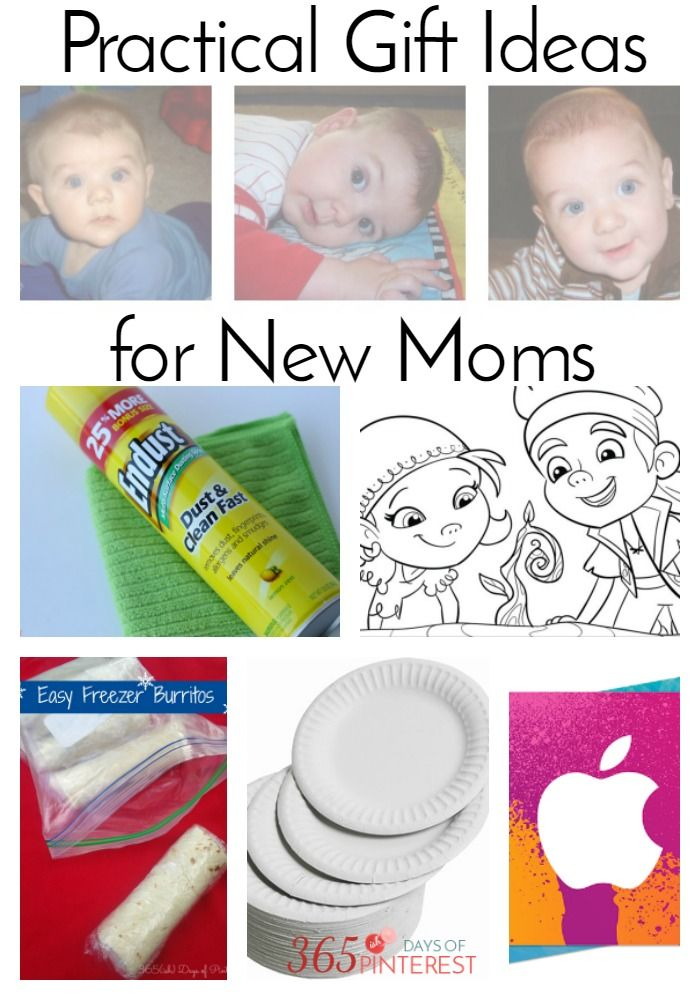 New moms need a lot of things. Primarily, sleep. But since you can't package t...