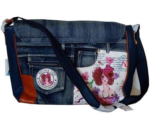 Original Nicole Lee Denim Shoulder Bag. Love it. Perfect for anyone who lives in...