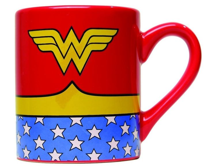 Power. Grace. Wisdom. Wonder. Wonder Woman. Coffee mug. Great movie gift idea!