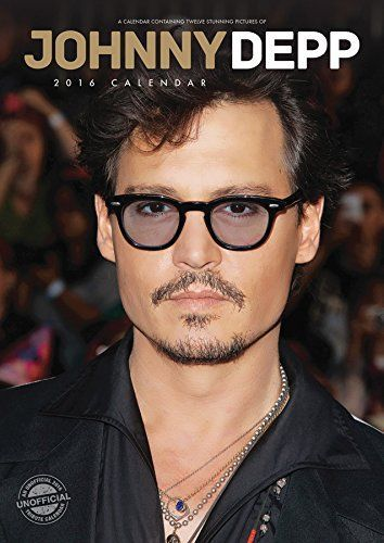 Mom Birthday Gifts Presenting The Johnny Depp 2016 Calendar Great