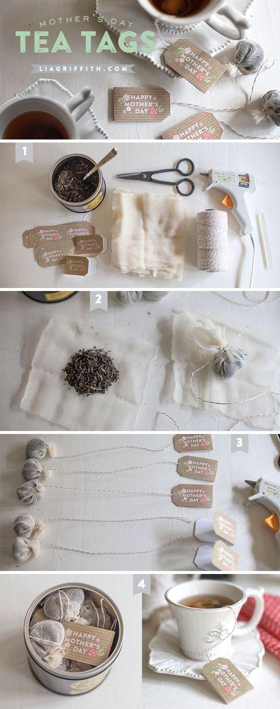 TeaTagsTutorial- Download the MotherDay- Tea Bag Tags! Makes a nice gift for Mom...