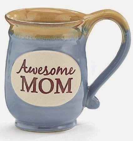 Treasures By Brenda: MUGS ON MONDAY: Pretty Blue Mother's Day Mug