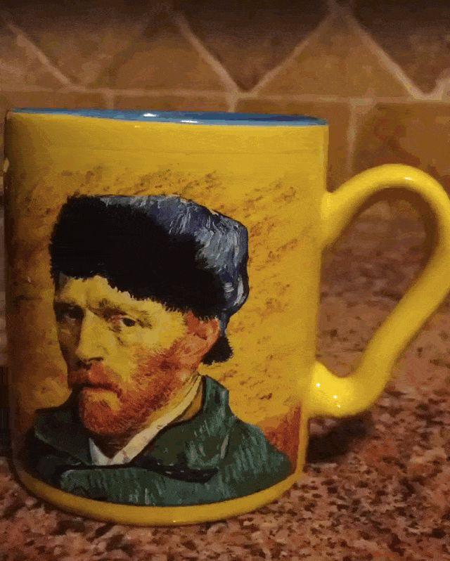Van Gogh coffee mug.