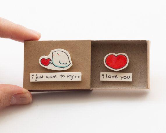 Carte amour mignon - mignon de la Saint-Valentin petit oiseau Cette liste est po...