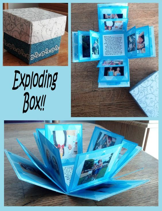 Valentines Day Gifts Exploding Box Could Be A Great Gift By