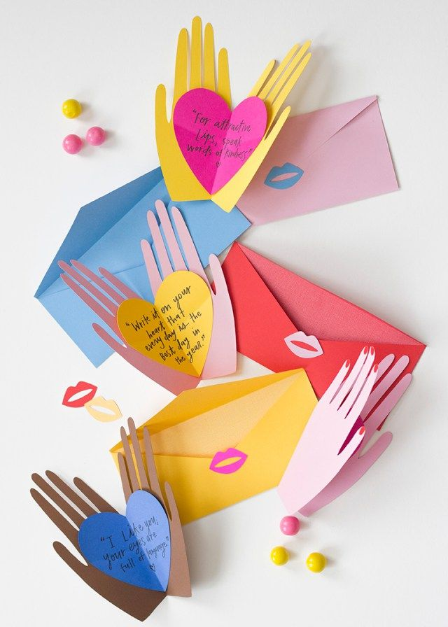 valentines day gifts hand holding hearts pop up valentines