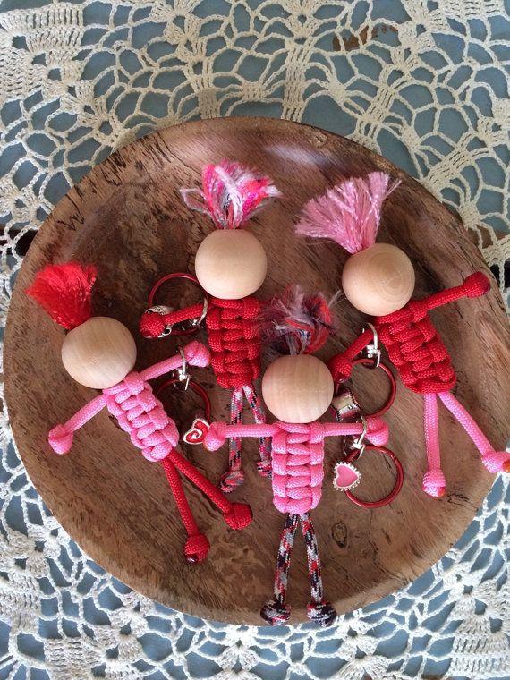 La Saint-Valentin porte-clés Paracord personnes porte-clé - charme - porte-cl...