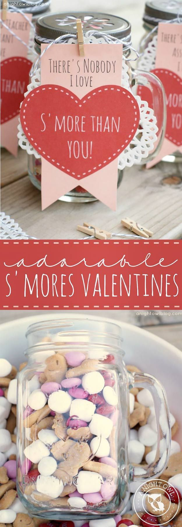 Valentines Day Gifts Mason Jar Valentine Gifts And Crafts Diy