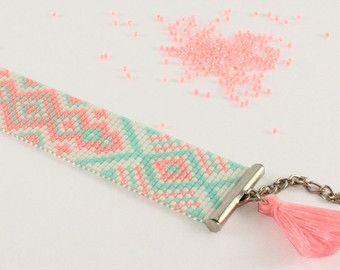 Métier à tisser Bracelet cadeaux de Noël pour la par PINKBLUEART