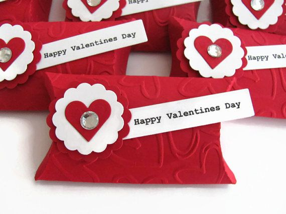 Valentines Day Gifts Mini Valentines Day Pillow Treat Box