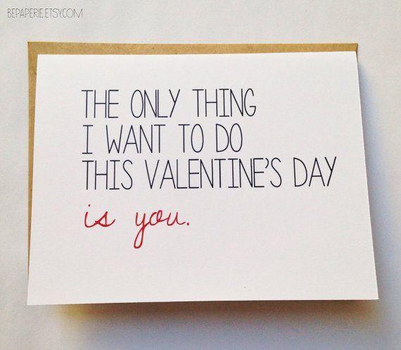 Naughty Valentine's Day Card