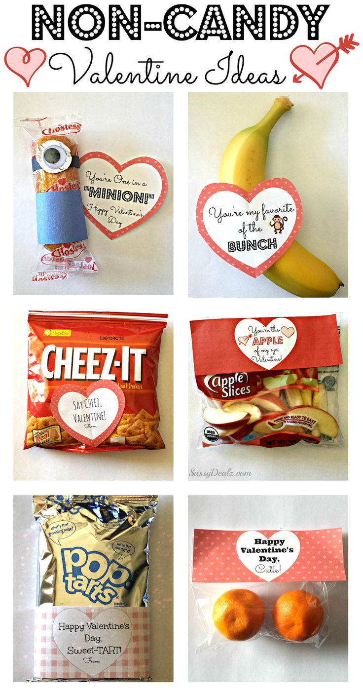 Non-Candy Valentine's Day Gift Bag Ideas For Kids | Healthy Valentines | Cla...