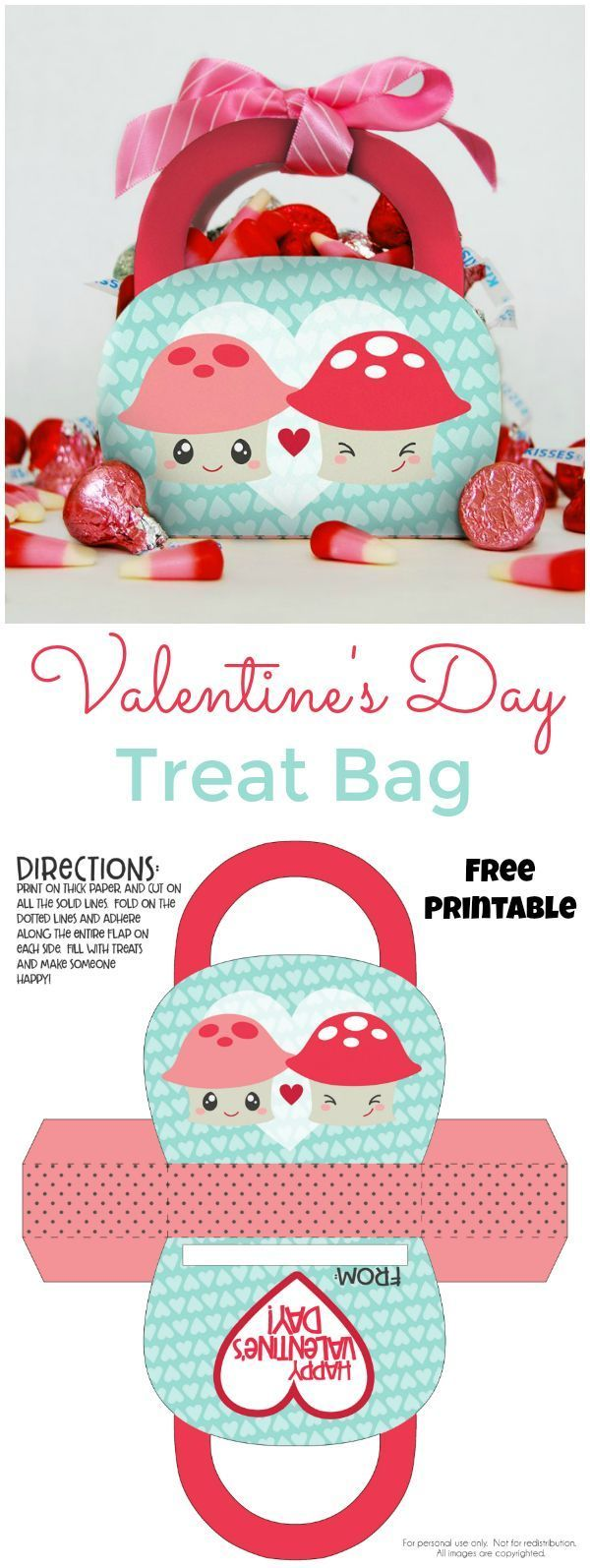 The cutest way to give a Valentine's Day gift, a Valentine's Day Treat B...