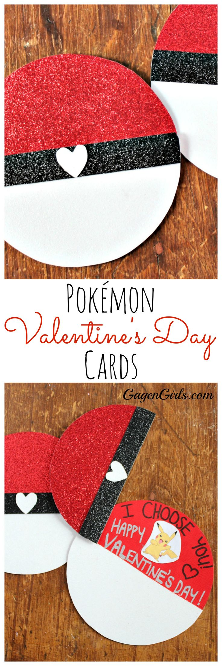 These adorable Pokémon Valentine's Day Cards are a snap to make! Only 15 mi...