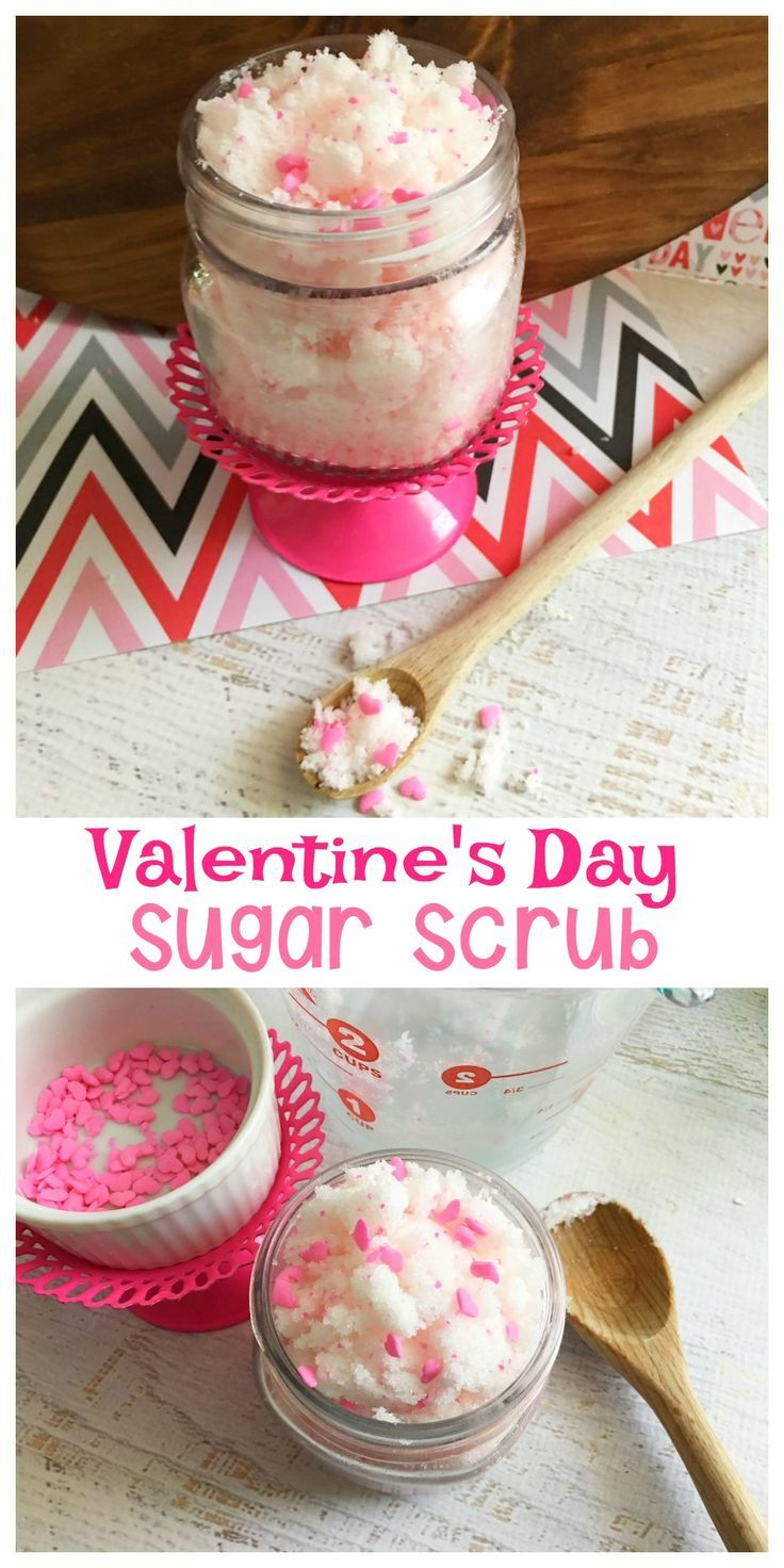 Valentines day gifts this valentine 39 s day sugar scrub for Perfect valentines day gifts