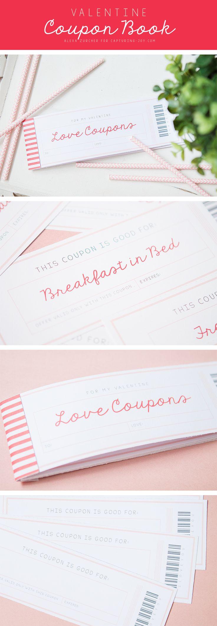 valentine carnet de coupons imprimables 2