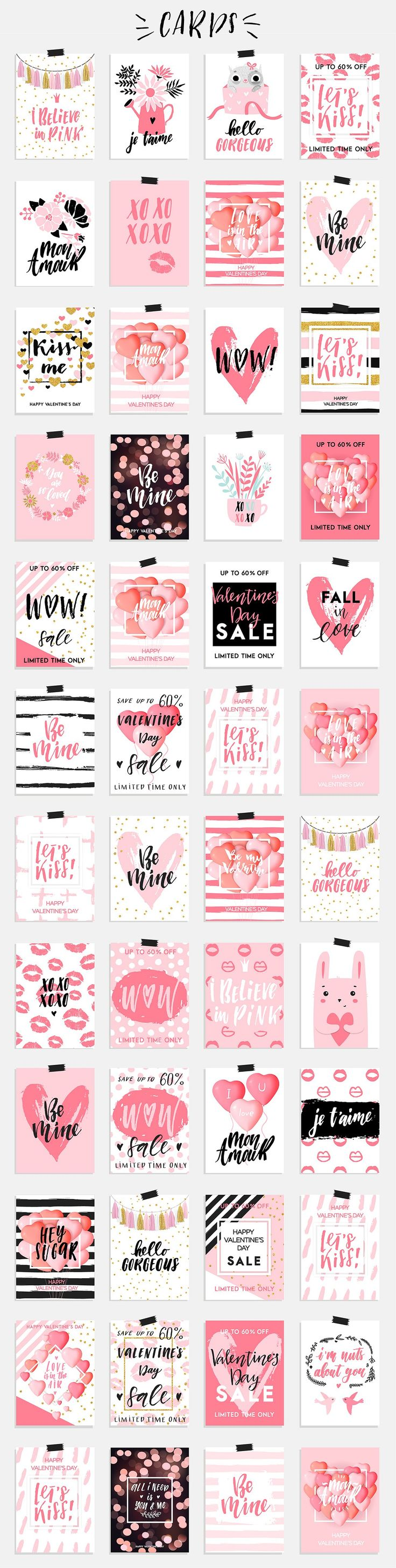 Valentines Day Gifts Valentine S Day Big Collection Cards Tags