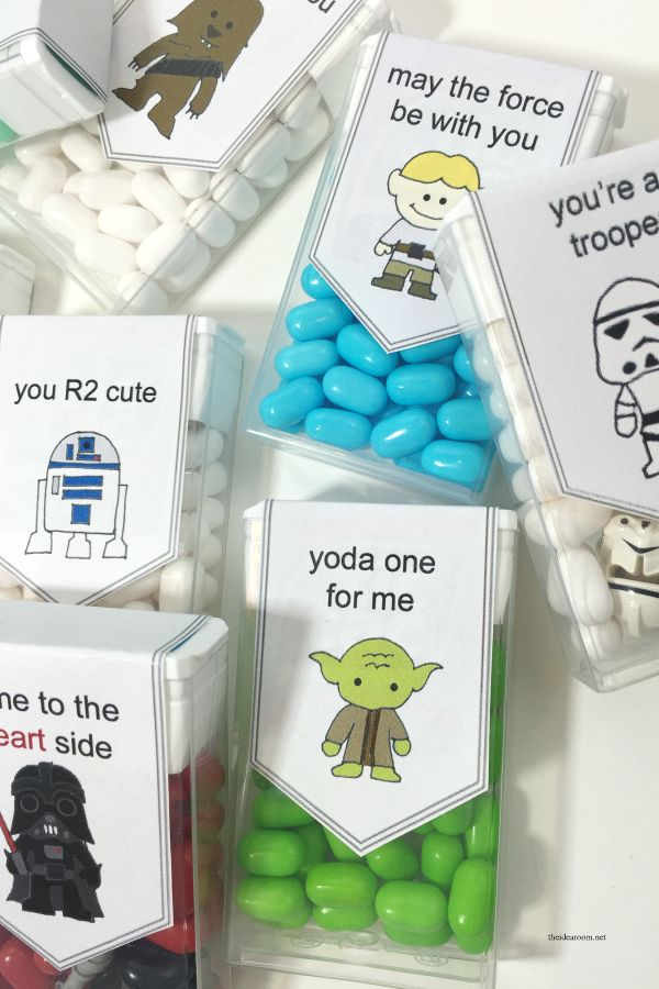 Valentines day gifts valentines day free printable star wars valentines day gifts solutioingenieria Gallery