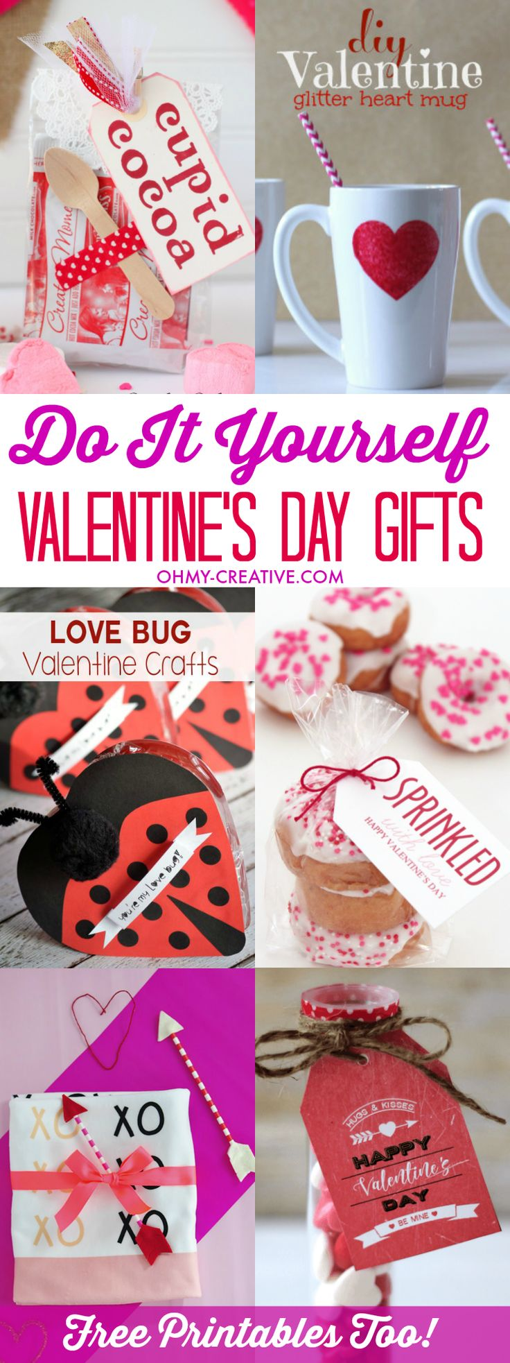 Valentine's Day is a great holiday to make something handmade. Find here great D...