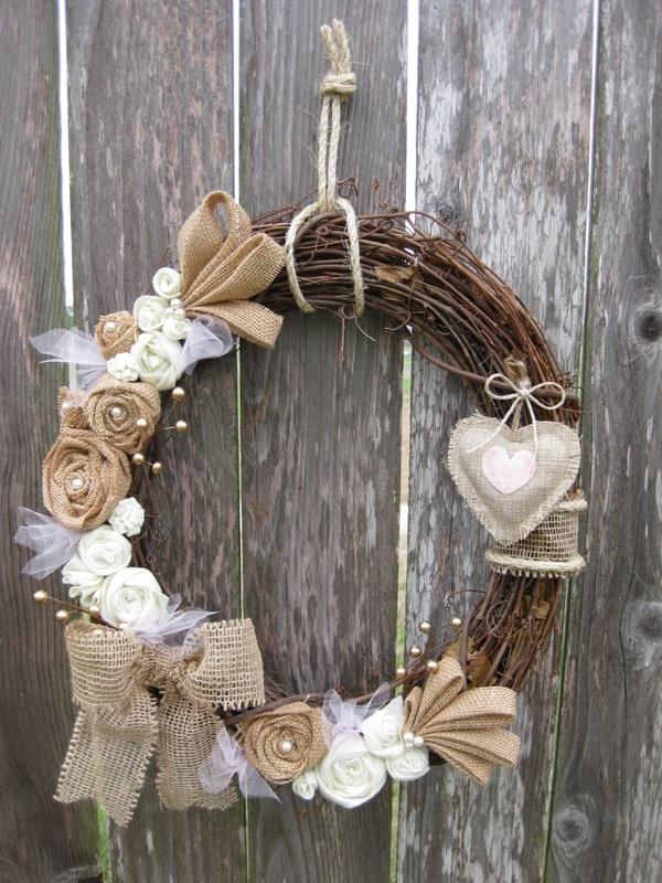 Valentines Day Wreath, Sweethearts Day wreath, Wreath, Winter Wreath. $55.00, vi...