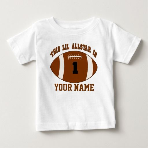 Birthday Gifts Ideas 1st Boy Football Personalized T