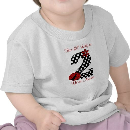 Birthday Gifts Ideas Ladybug 2nd Shirt